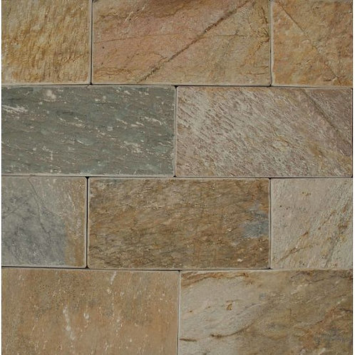 "Paver 8""x 16""- Amber Gold Collection"