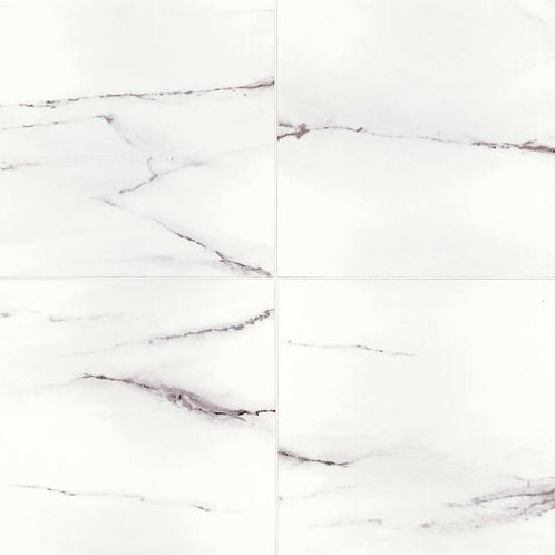 "White Stone 24""x 24"" - Bianco Pietra Collection"