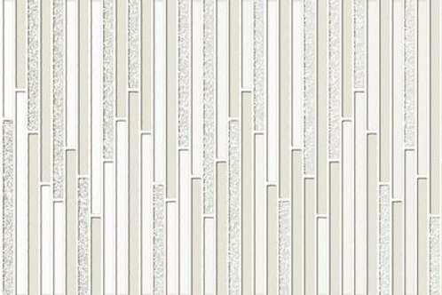 "White 11.6"" x 40"" - Intuition Deco Series"
