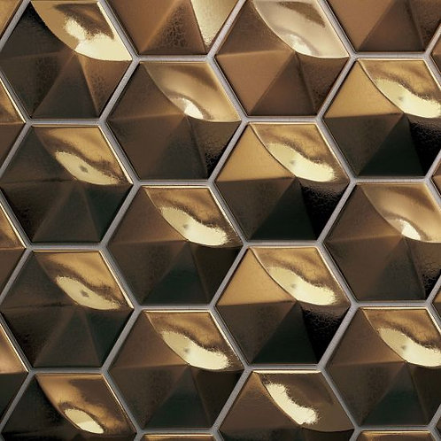 "Metallic 4""x 5"" - Hedron Collection"
