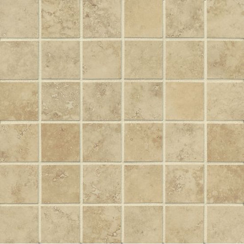 "Beige - 2""x 2"" -  Roma Collection"