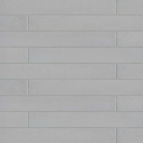 """Solid Gray 3""""x 24"""" - Allora Collection"""
