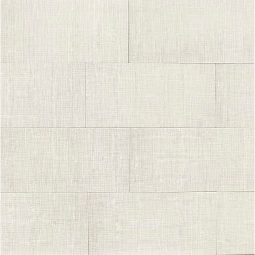 """White 12""""x 24"""" - Dagny Collection"""