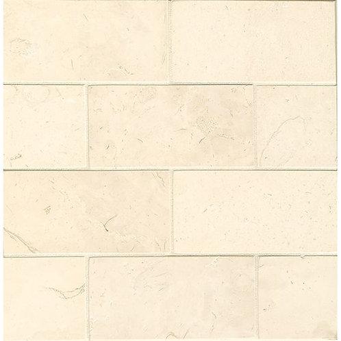 "Corinthian White 3""x 6""- Corinthian White Collection"