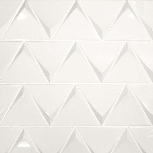"White 5"" x 5"" - Triangolo Collection"