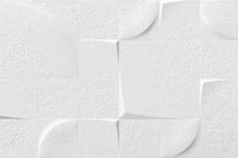"Glacier White 12"" x 36"" - Kone Deco Series"