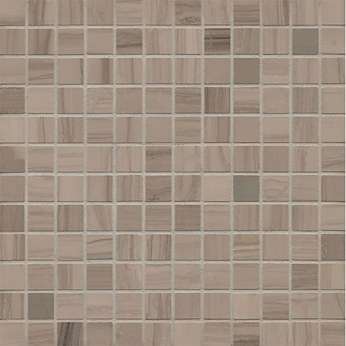 "Lennox Grey 1""x 1"" - Lennox Grey Collection"
