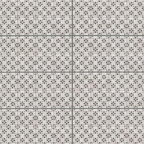 "Castle Graphite Bloom 12""x 24"" - Palazzo Collection"