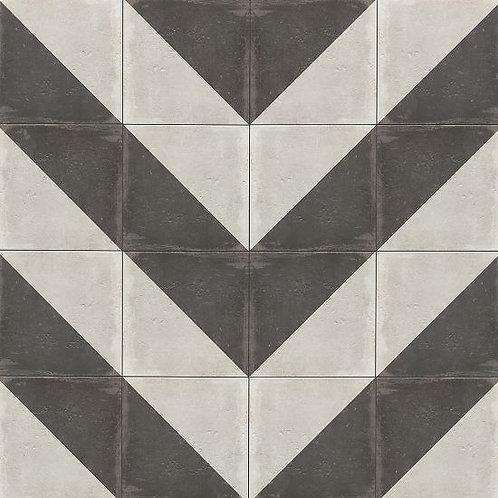 """Castle Graphite Villa 12""""x 12"""" - Palazzo Collection"""