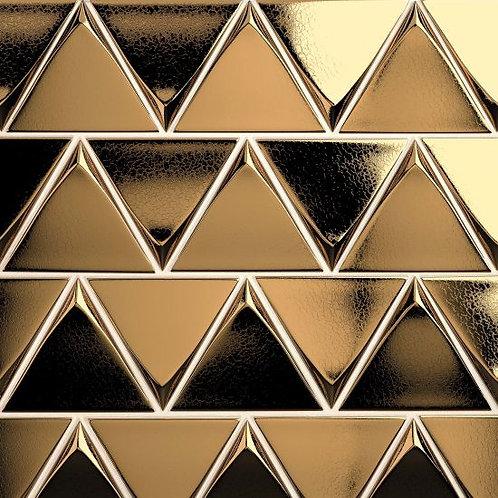 "Metallic 5"" x 5"" - Triangolo Collection"