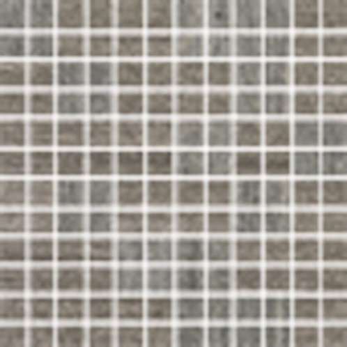 "Materia 3D 1"" x 1"" Floor & Wall Mosaic in Heather Grey"