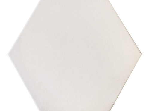 "White 10"" x 11"" - Fabila Hex Series"