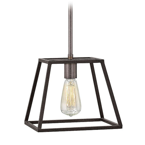 Hinkley Lighting Fulton Aged Zinc Pendant Light