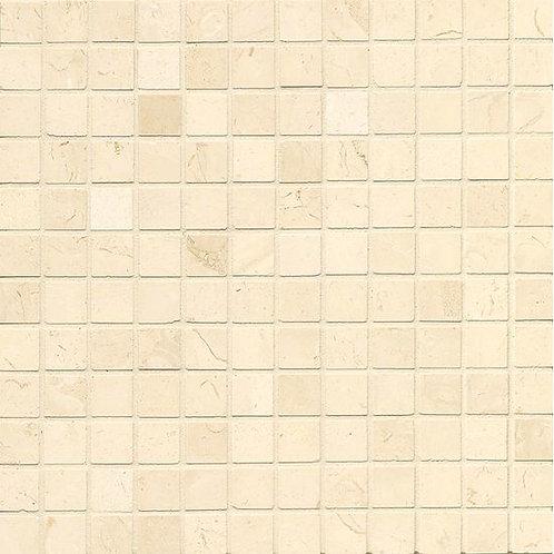 "Corinthian White 1""x 1"" - Corinthian White Collection"