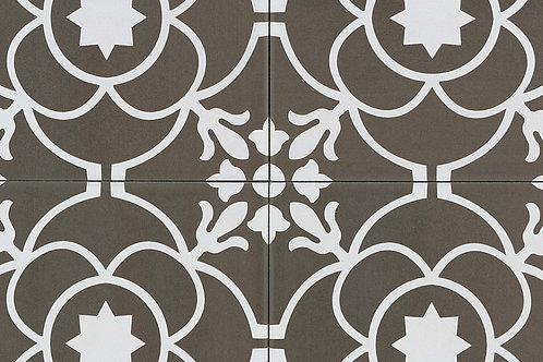 "Acier White 8"" x 8"" - Tuscany Collection"