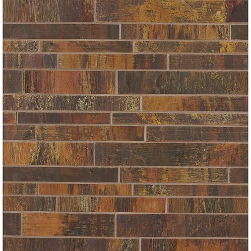 """Islesford Copper 2""""x 6"""" -Acadia Collection"""