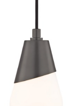 Cora Old Bronze Mini-Pendant Light Mitzi by Hudson Valley