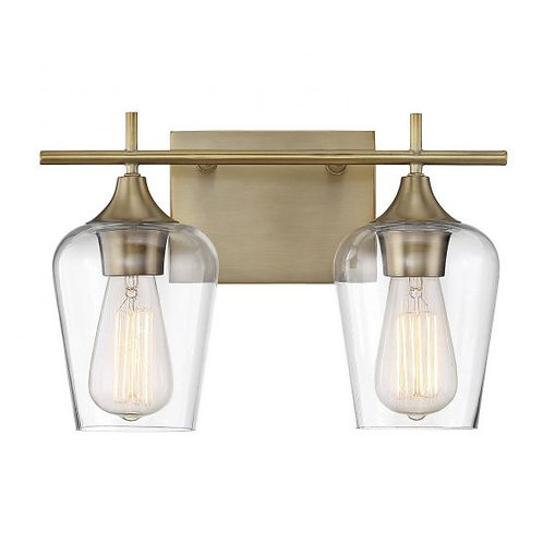 Octave Bathroom Light. 2 Lts. from Savoy House