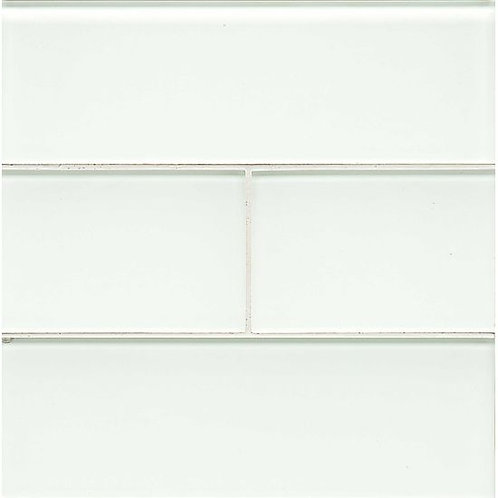 "White Linen 4""x 12"" - Hamptons Collection"
