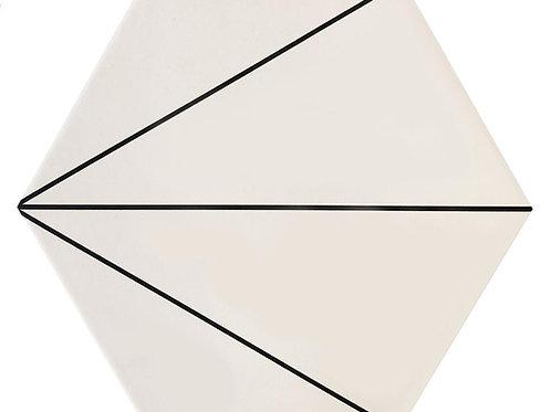"""Deco Trident 10"""" x 11"""" - Fabila Hex Series"""