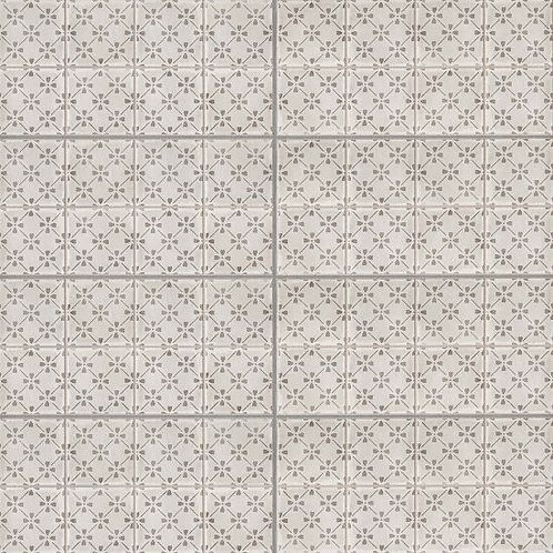 "Vintage Grey Bloom 12""x 24"" - Palazzo Collection"