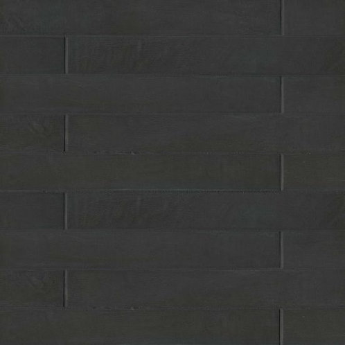 """Solid Black 3""""x 24"""" - Allora Collection"""