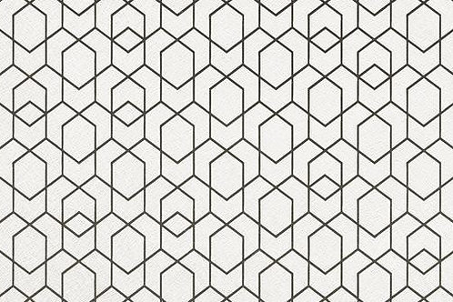 """Patterned White 16"""" x 48"""" - Click Zip Series"""