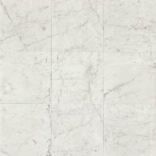 "White Carrara 12""x 12"" - White Carrara Collection"