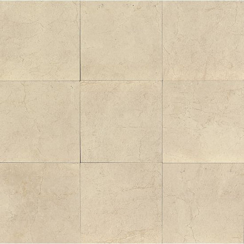 """Bianco 24""""x 24"""" - Marfil Collection"""