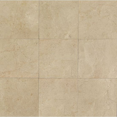 "Crema 24""x 24"" - Marfil Collection"