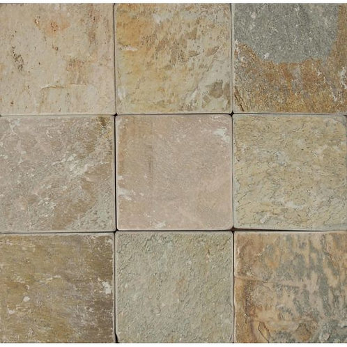 """Paver 8""""x 8""""- Amber Gold Collection"""