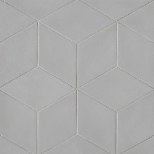 """Solid Grey 7.38""""x 12.75"""" - Allora Collection"""