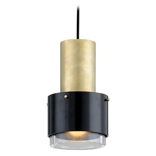 Corbett Lighting Melrose Vintage Brass Pendant Light