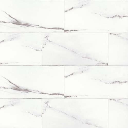 "White Stone 12""x 24"" - Bianco Pietra Collection"