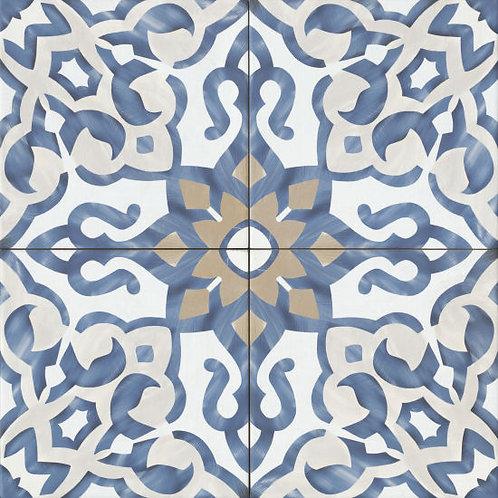 """Blue 10""""x 10"""" Villa Azul Collection"""