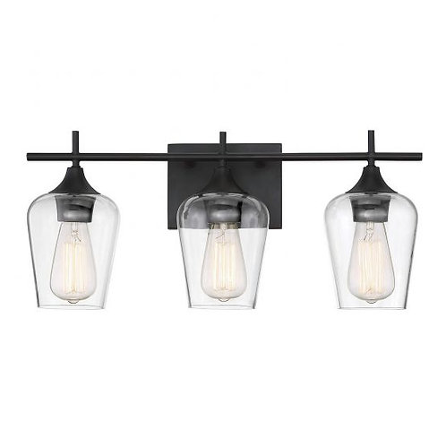 Octave Bathroom Light. 3 Lts. from Savoy House
