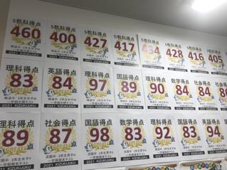 1学期 浜脇中学 期末テスト結果!!