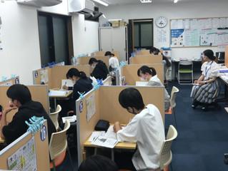 浜脇中学 3年生 実力テスト前学習会!!