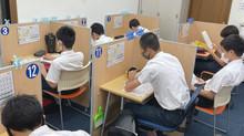 1学期 精道中学期末テスト朝学習会