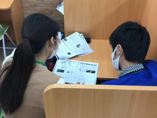 2学期 中学生中間テスト前学習会