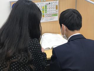 2学期 芦屋市立精道中学 期末テスト朝学習会