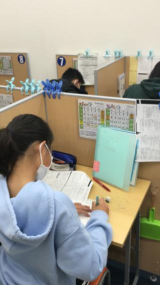 3学期 浜脇中学 精道中学 学年末テスト前学習会