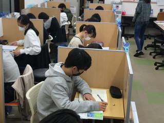 2学期 浜脇中学 期末テスト前学習会