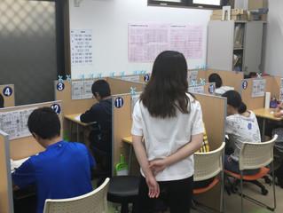 2学期 中学生中間テスト前学習会&浜脇中学朝学習会