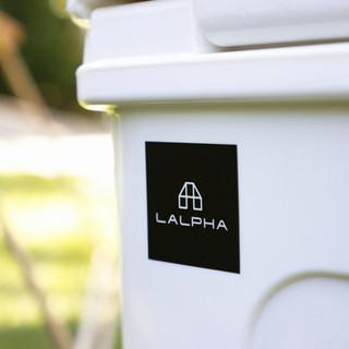LALPHA ステッカー3pcsセット