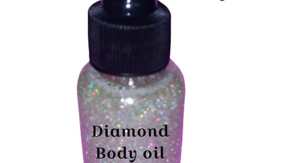 Diamond Body oil