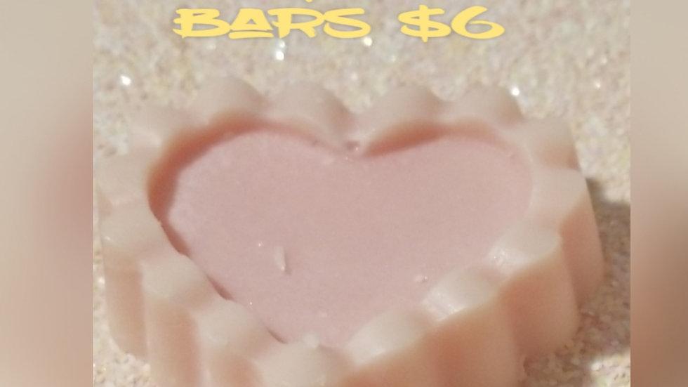 Shimmer lotion bars
