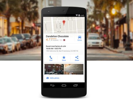 Fiche Google pour entreprises
