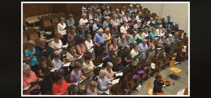 M. Haydn: Te Deum Probe 1. Juni 2017 Friedenskirche Olten