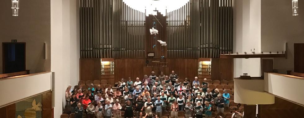 Probe 1. Juni 2017 Friedenskirche Olten